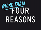 Logo More than four reasons